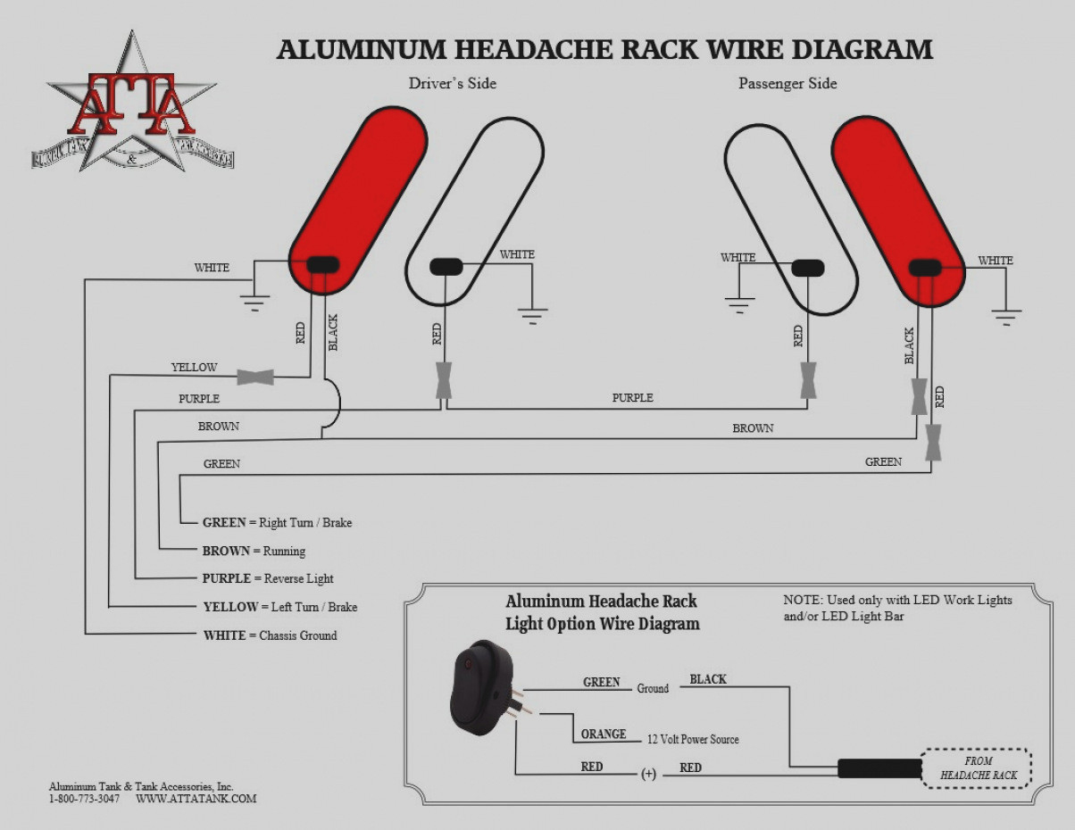 Wiring Diagram For Led Tail Lights Fitfathers Me Unusual Light And - Wiring Diagram For Trailer Lights