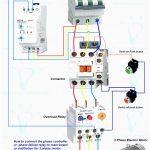 Wiring Diagram For Motor Starter 3 Phase Controller Failure Relay   Three Phase Motor Wiring Diagram