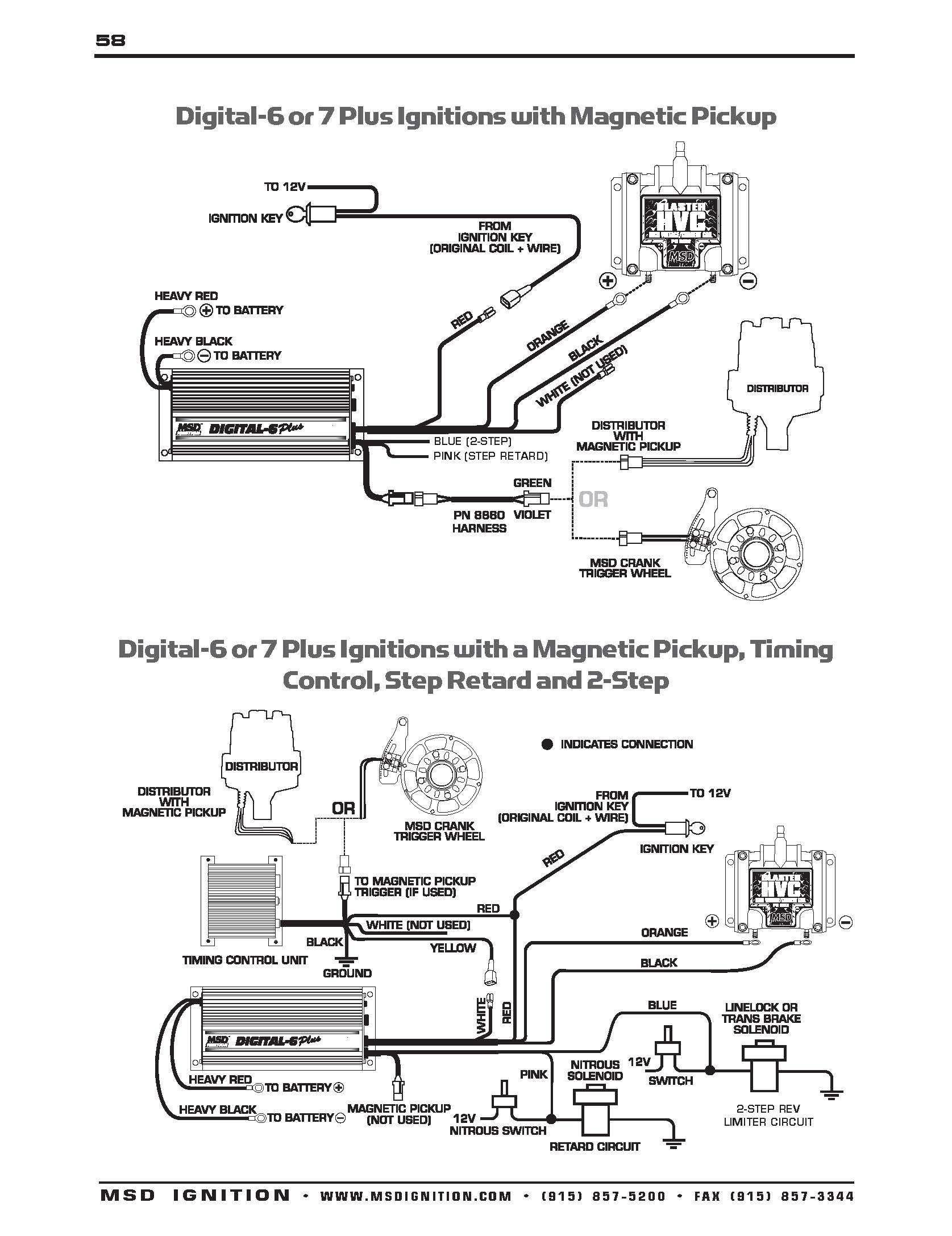 Wiring Diagram For Msd 2 Step | Wiring Library - Msd Digital 6 Plus Wiring Diagram