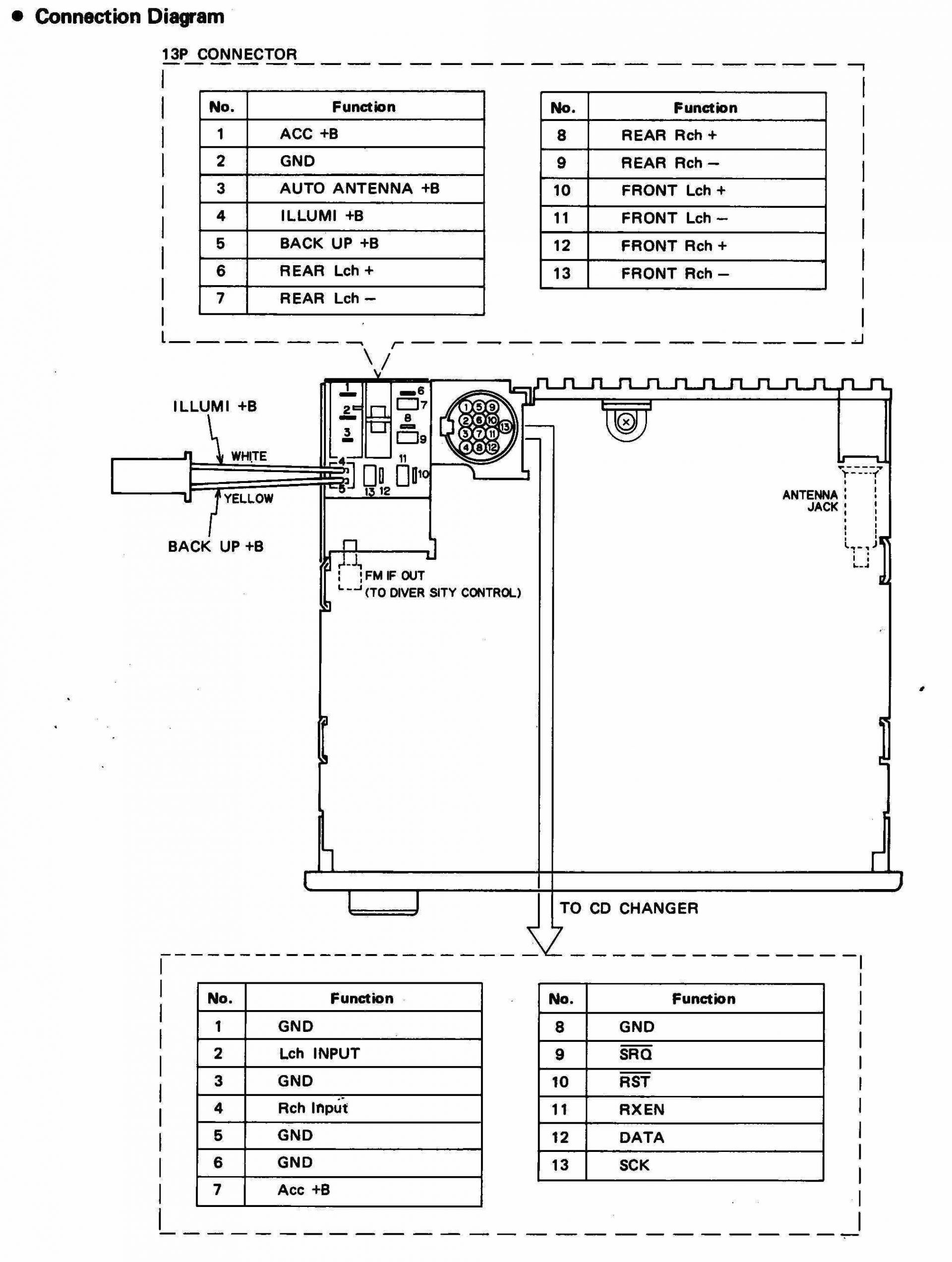 Wiring Diagram For Pioneer Avh X2800Bs | Wiring Diagram - Pioneer Avh-X2800Bs Wiring Harness Diagram