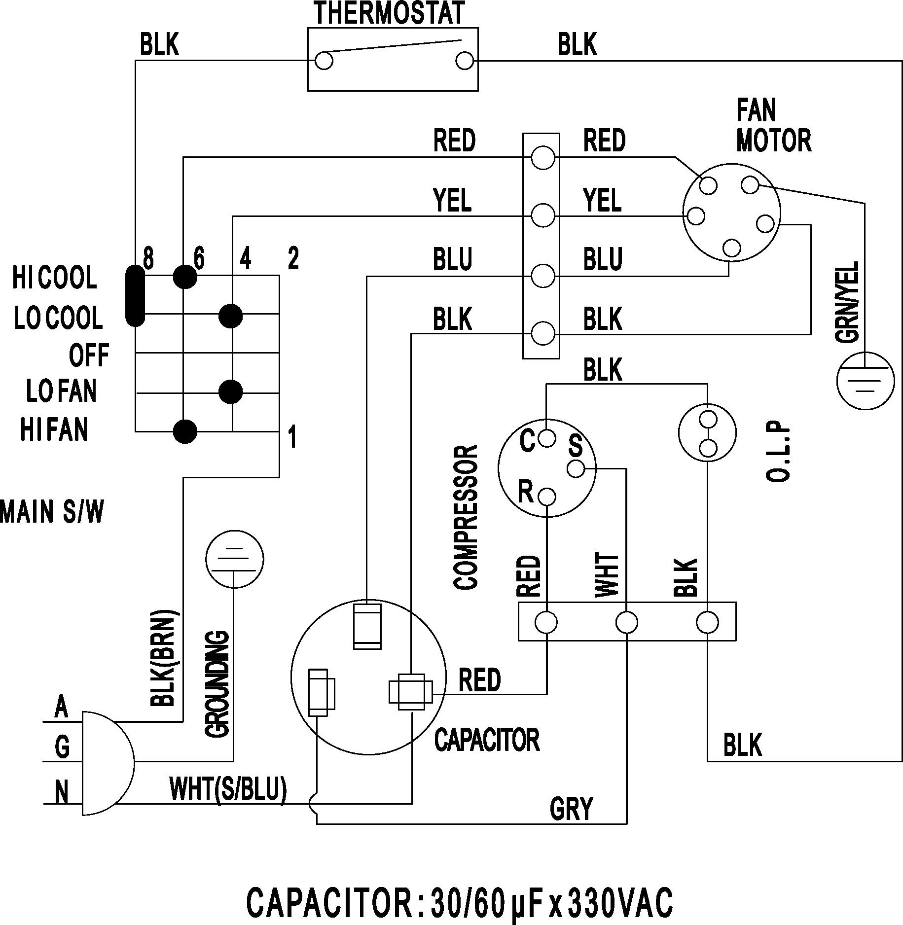 Wiring Diagram For Quad Receptacle | Wiring Diagram - Receptacle Wiring Diagram Examples