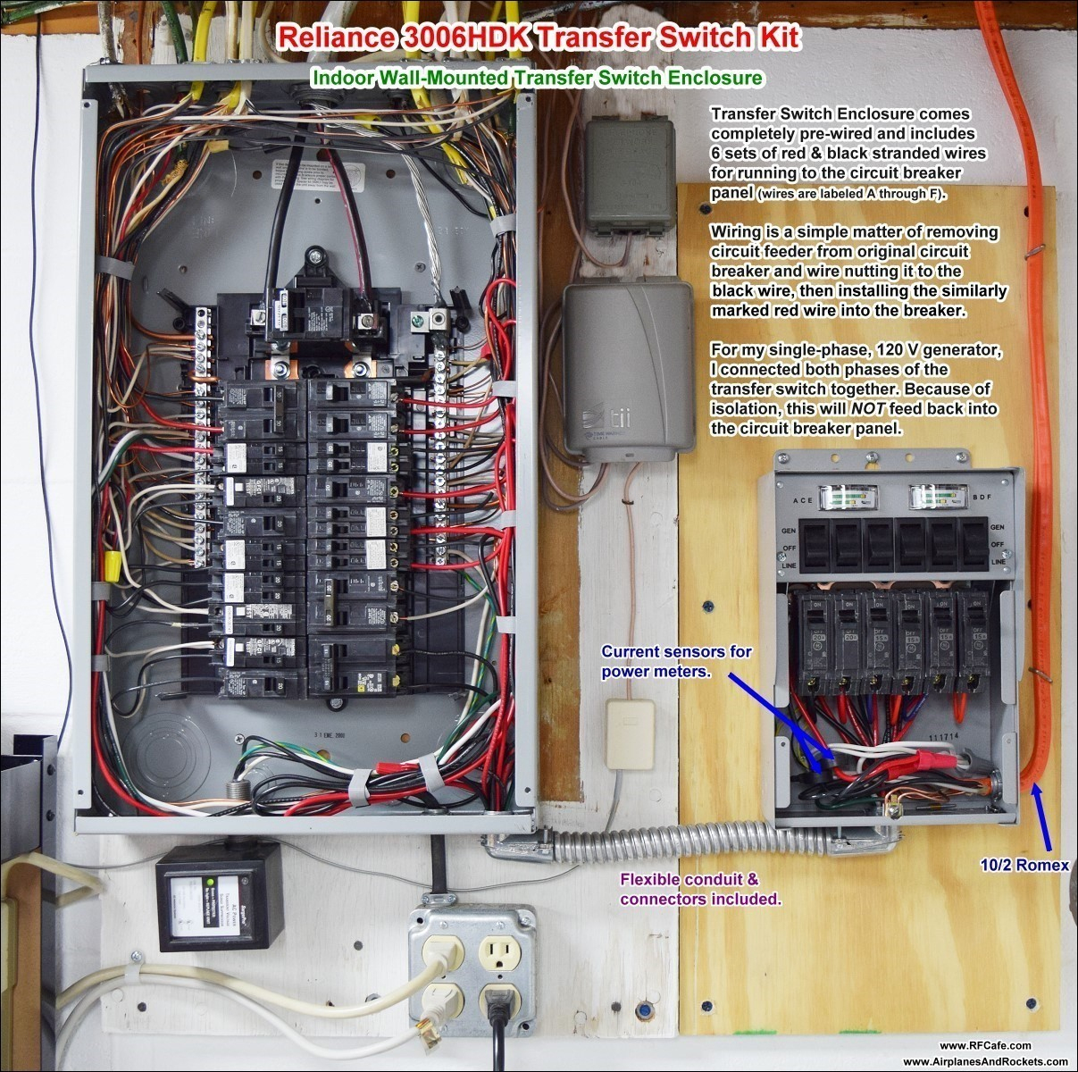 Square D Load Center Wiring Diagram