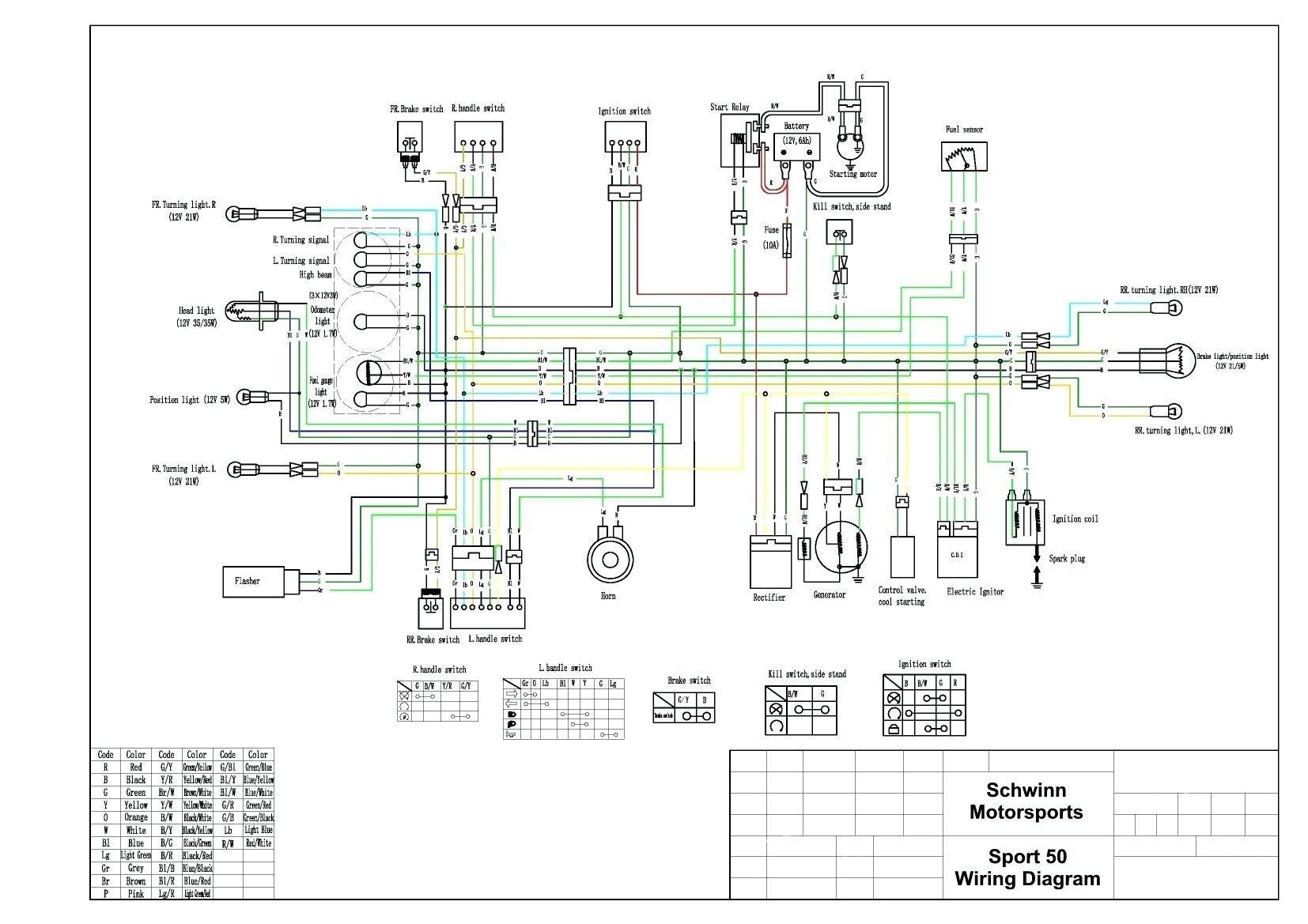 Wiring Diagram For Tao Tao 110Cc 4 Wheeler | Wiring Diagram - Chinese 4 Wheeler Wiring Diagram