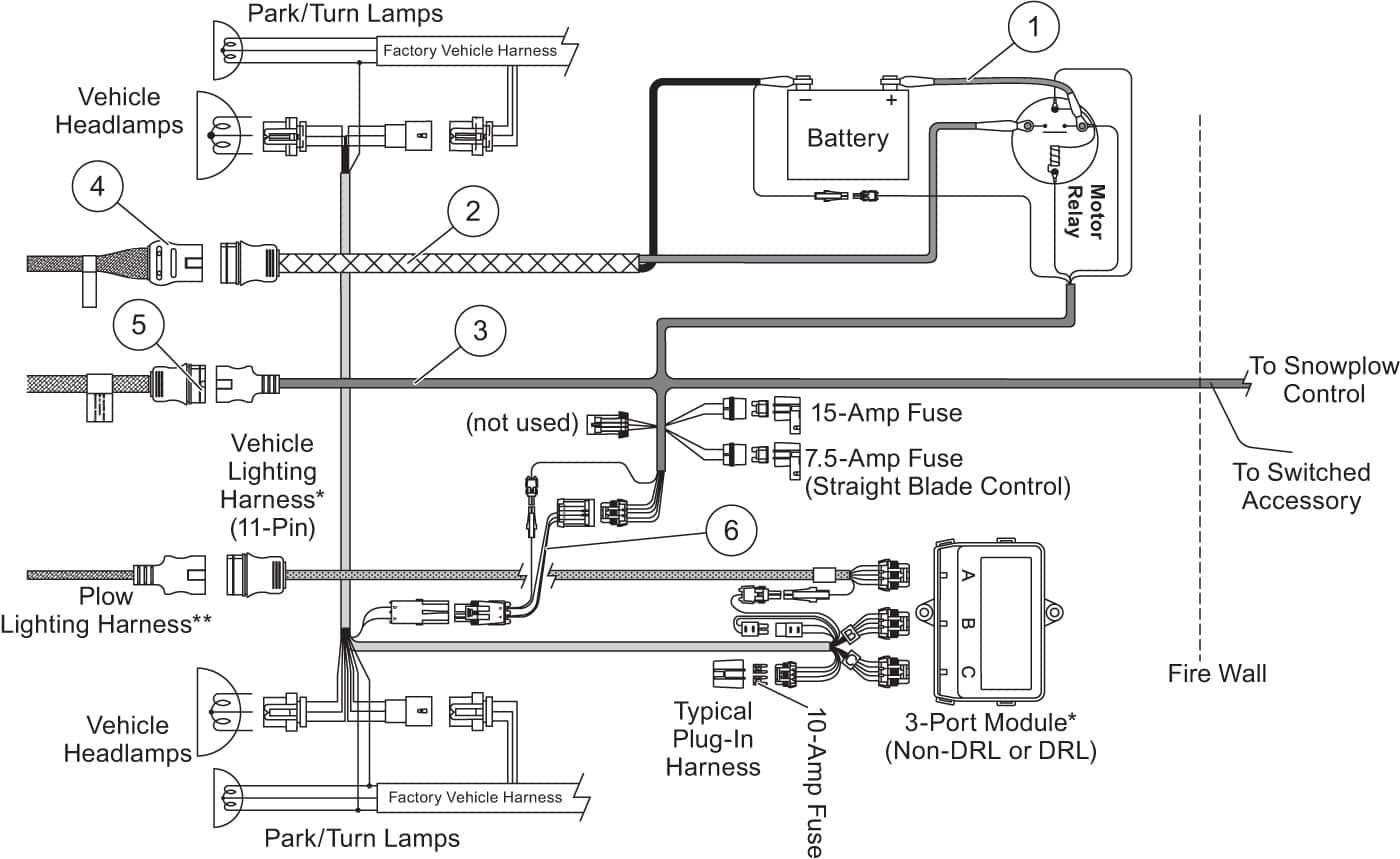 Wiring Diagram For Western Snow Plow - Wiring Diagram Data - Western Unimount Plow Wiring Diagram