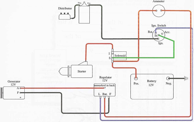 Wiring Diagram Generator - Allischalmers Forum - 12V Wiring Diagram
