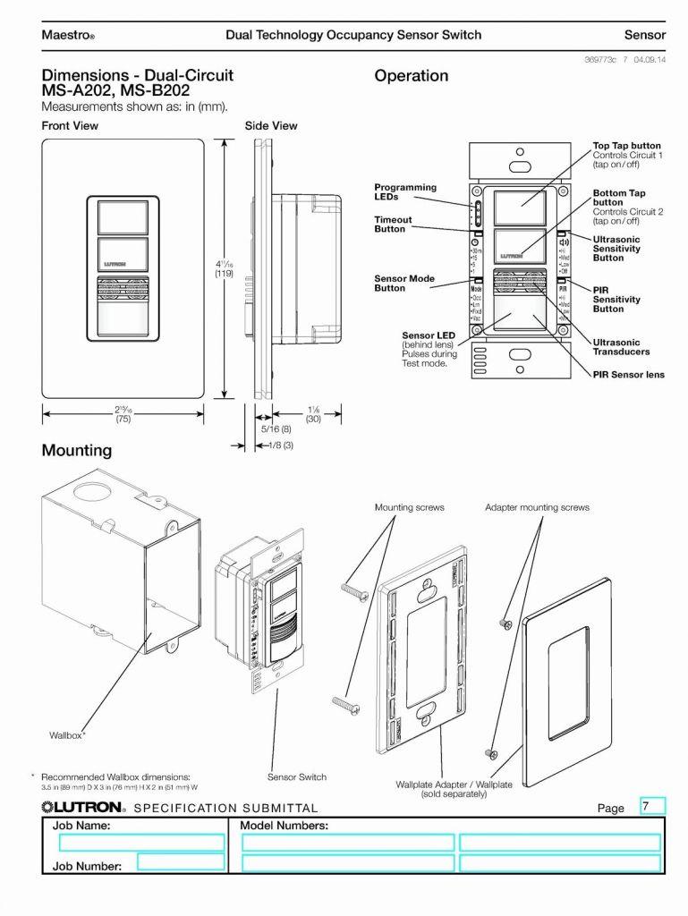 Wiring Diagram How To Write Lutron Maestro - Wiring Diagram Essig - Lutron Maestro 3 Way Dimmer Wiring Diagram