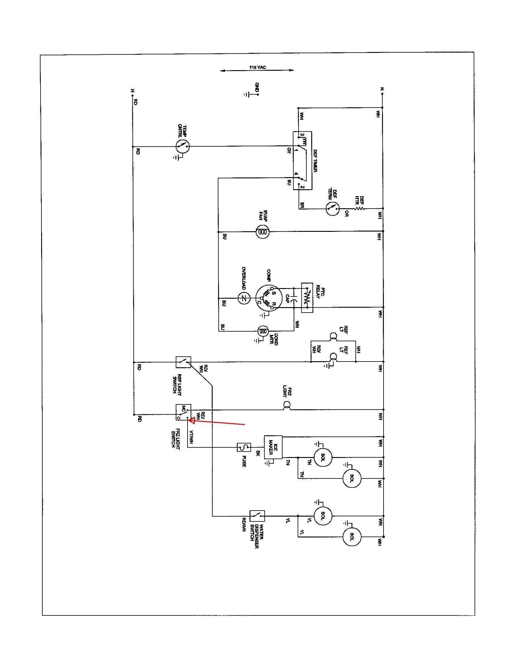 Wiring Diagram Of Freezer | Wiring Library - True Freezer T 49F Wiring Diagram