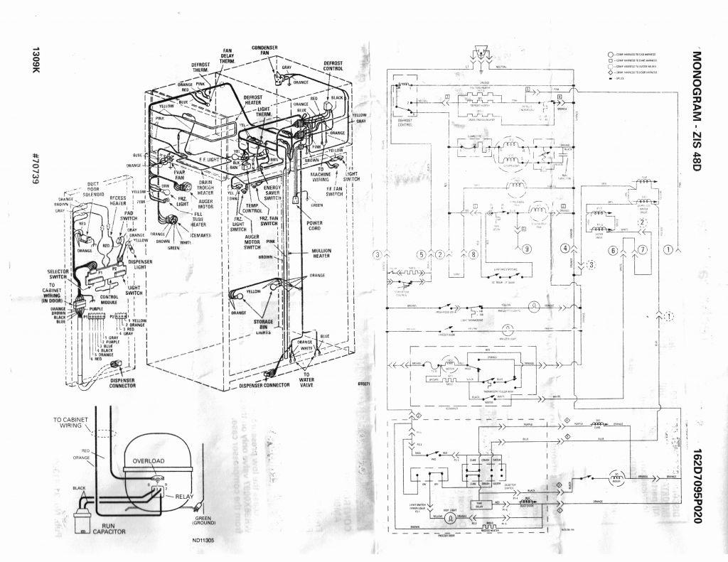 Wiring Diagram Of Refrigerator Pdf | Manual E-Books - Refrigerator Wiring Diagram Pdf