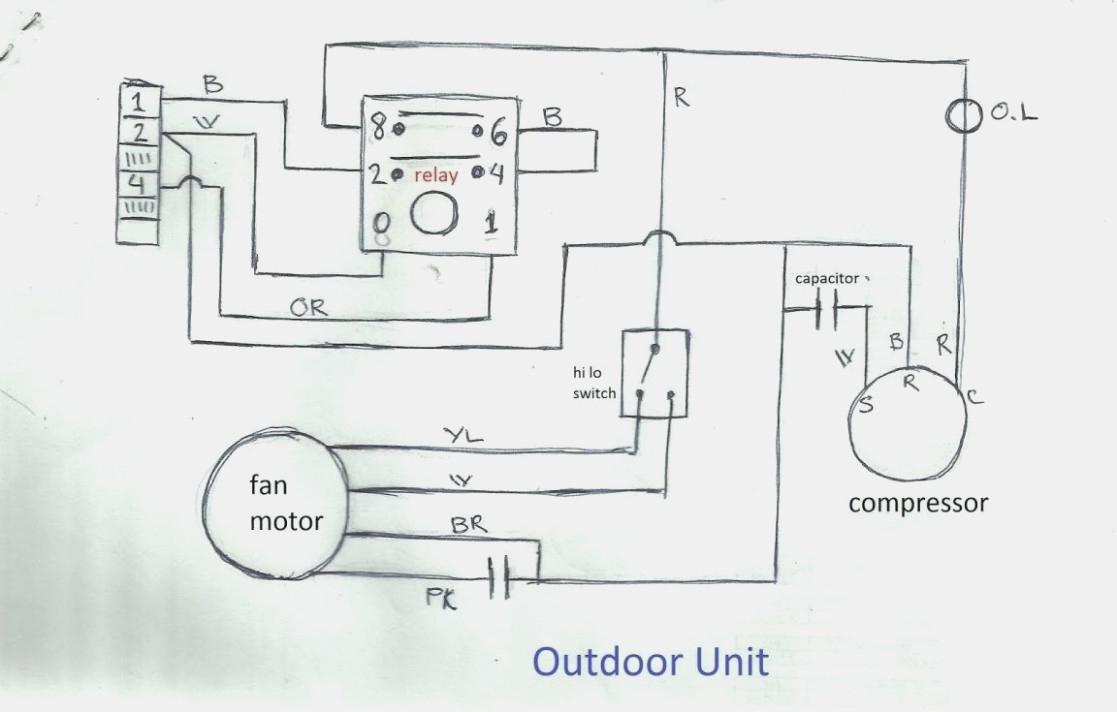 Wiring Diagram Of Split Type Aircon - Wiring Diagram Detailed - Ac Wiring Diagram