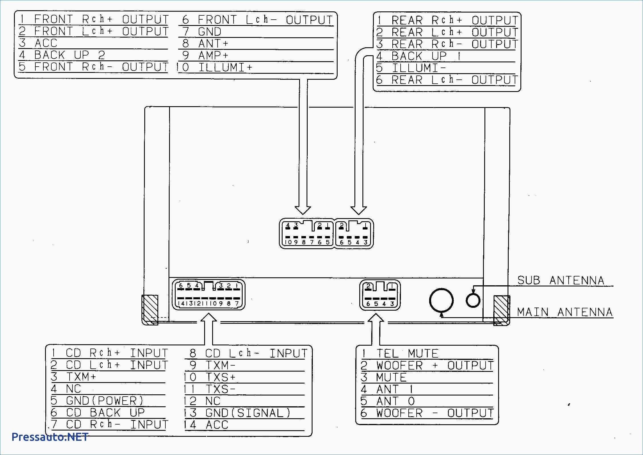 Wiring Diagram Pioneer Deh 150Mp | Manual E-Books - Pioneer Deh-150Mp Wiring Diagram