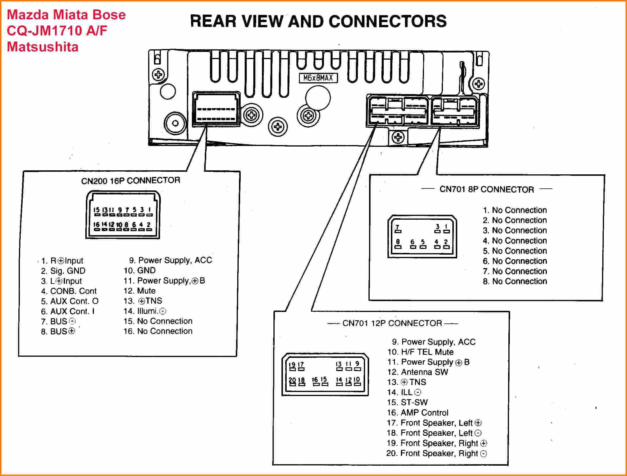 Diagram Pioneer Deh 23 Wiring