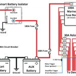 Wiring Diagram Typical Battery Isolator Circuits Single   Today   Travel Trailer Battery Wiring Diagram