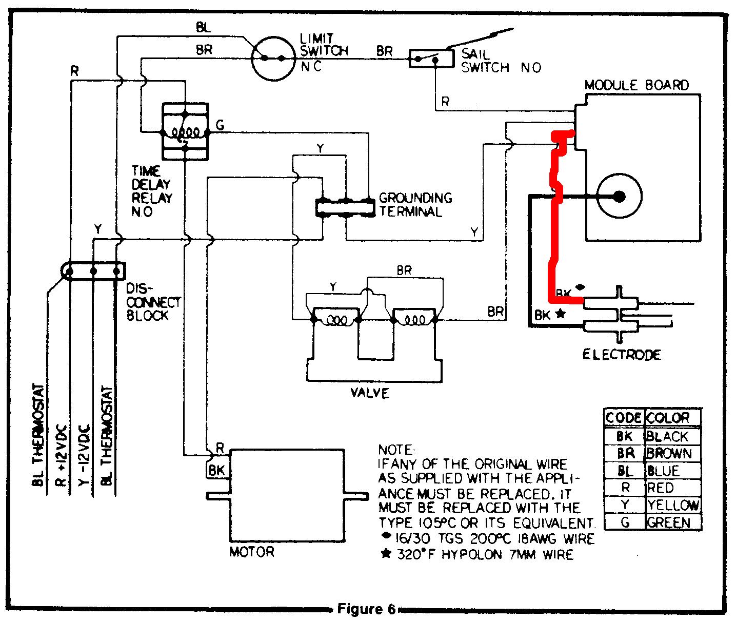 Wiring Diagram York Gas Furnace I Have | Manual E-Books - Gas Furnace Wiring Diagram