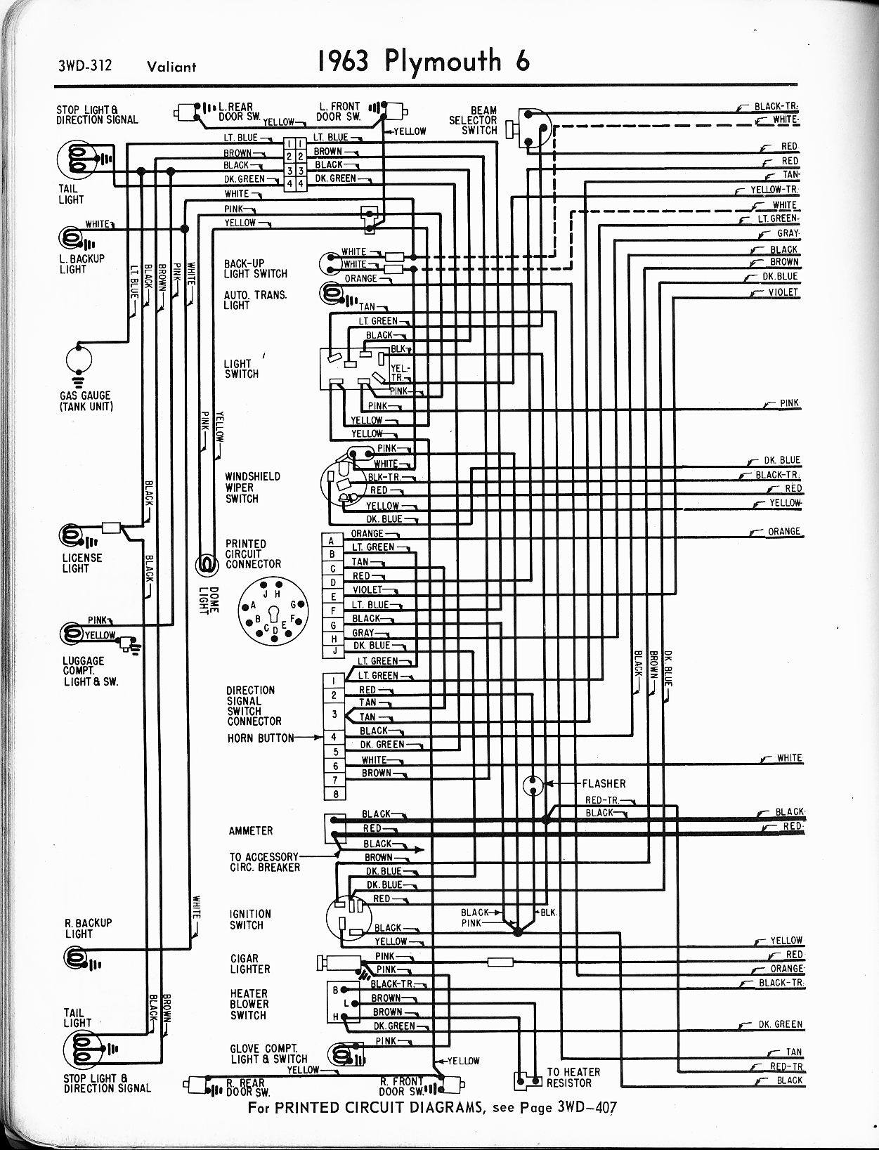 Wiring Diagrams 63 Model Year - Mopar Owners Group South Africa - Mopar Wiring Diagram
