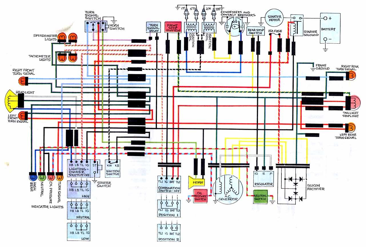 Wiring Diagrams - Cb750 Wiring Diagram