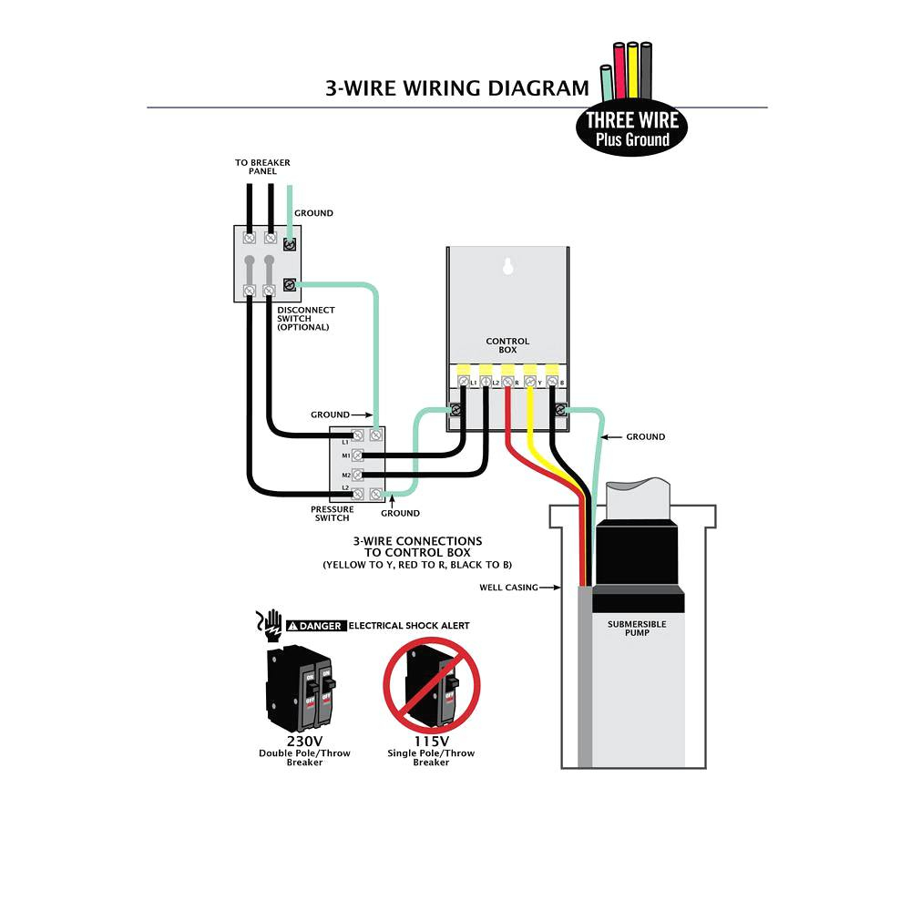 Wiring Diagrams Deep Well Pump Installation 2 Wire Within And - Well Pump Wiring Diagram