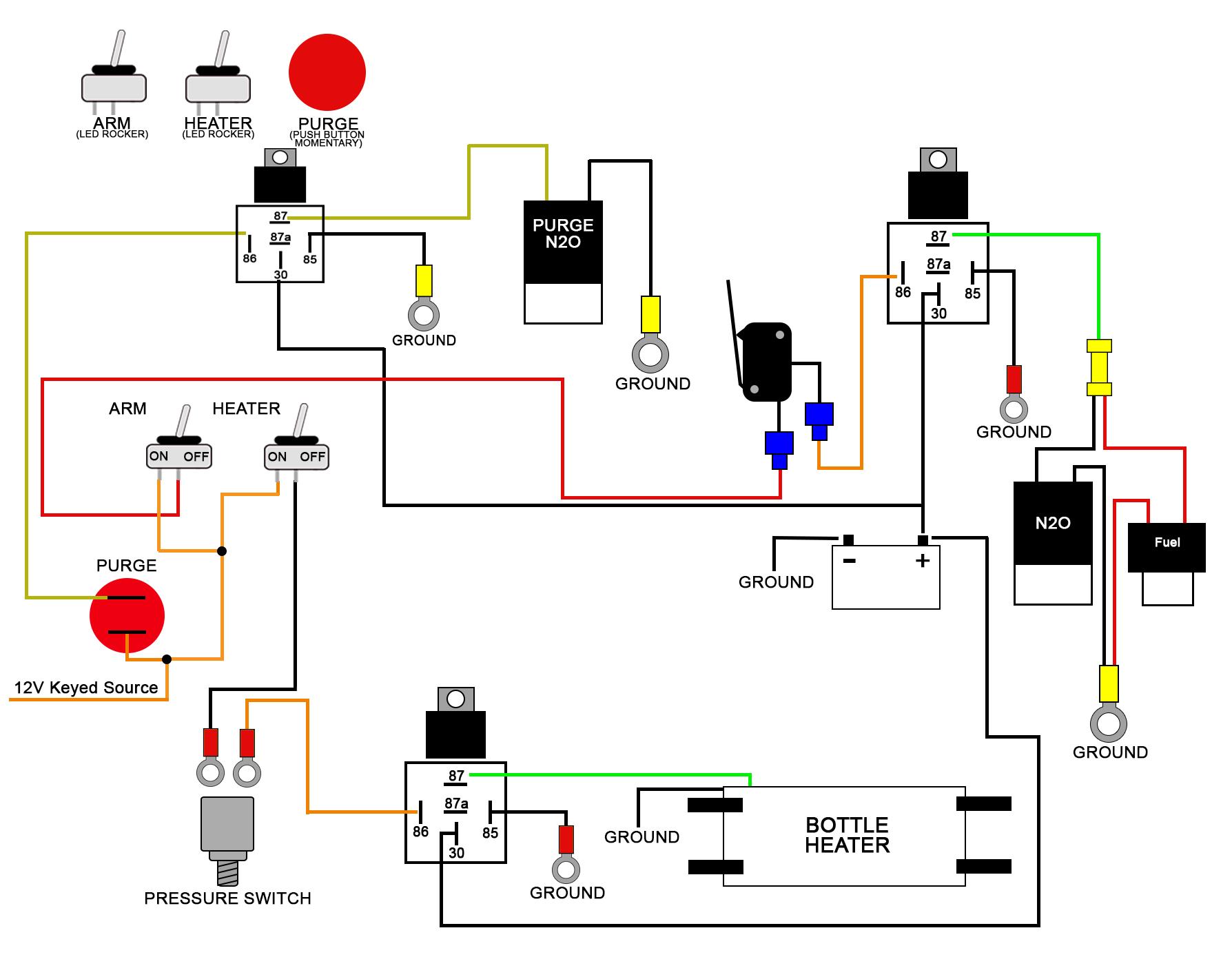 Wiring Diagrams - Push Button Switch Wiring Diagram