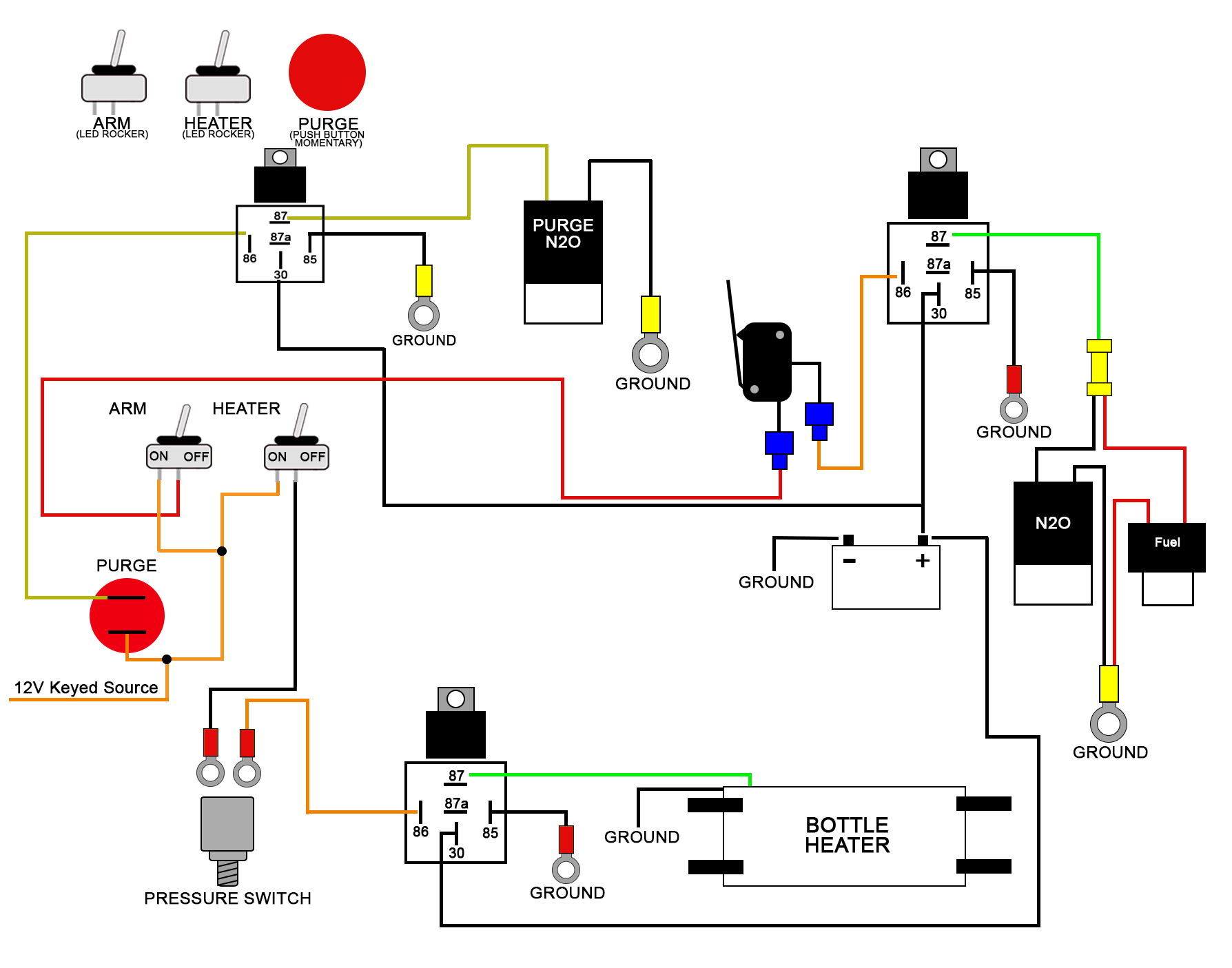 Wiring Diagrams - Solenoid Wiring Diagram