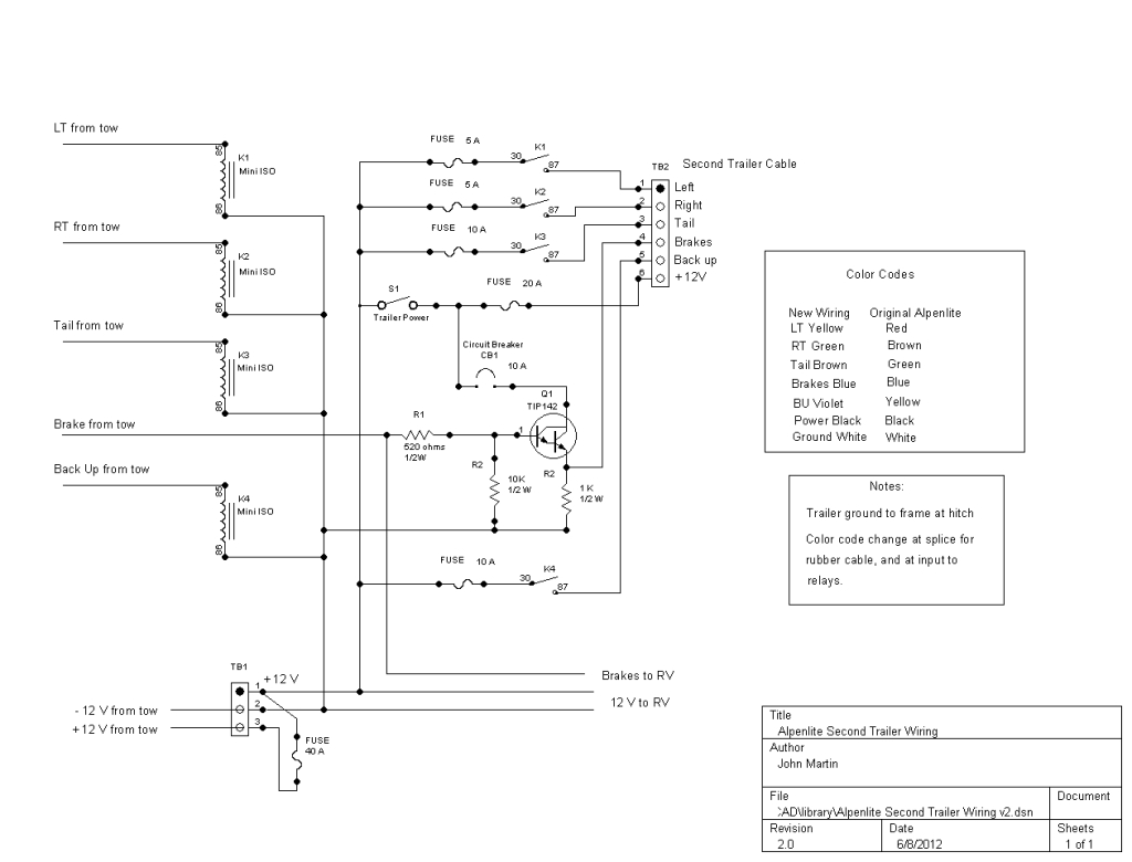 Wiring For Trailer Lights - Dodge Diesel - Diesel Truck Resource Forums - Wiring Diagram For Trailer Lights