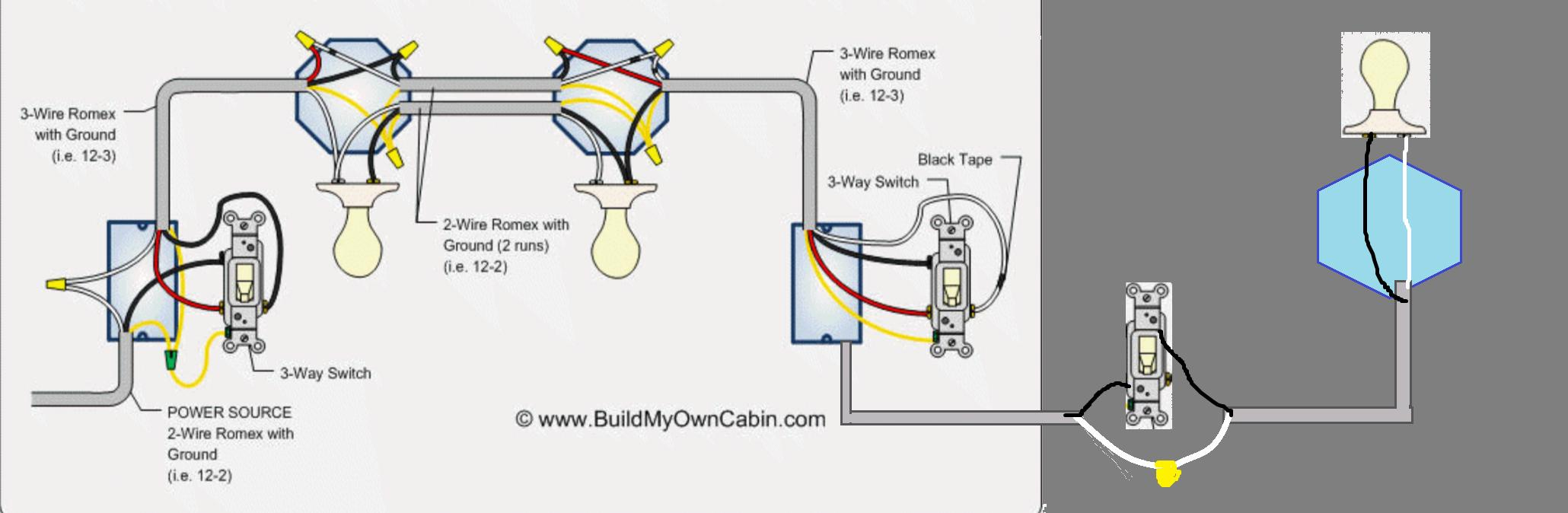 Wiring - Going From 3 Way Switch To A Regular Switch - Home - Wiring Diagram For 3Way Switch