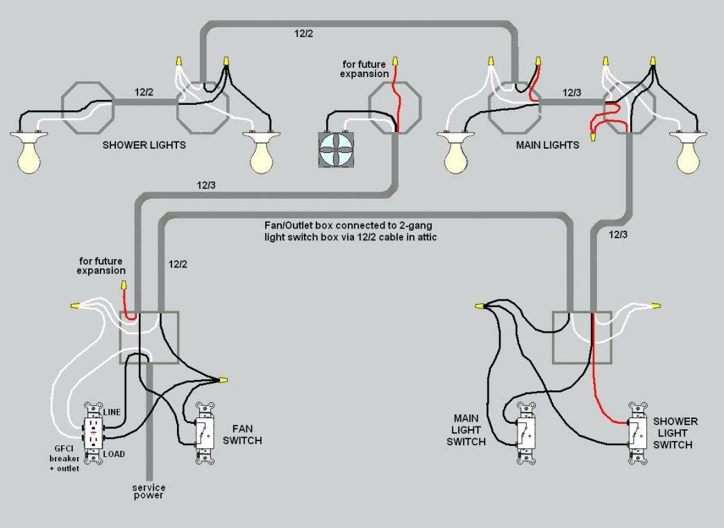 Wiring Lights And Outlets On Same Circuit Diagram Basement A Full - Wiring Lights And Outlets On Same Circuit Diagram