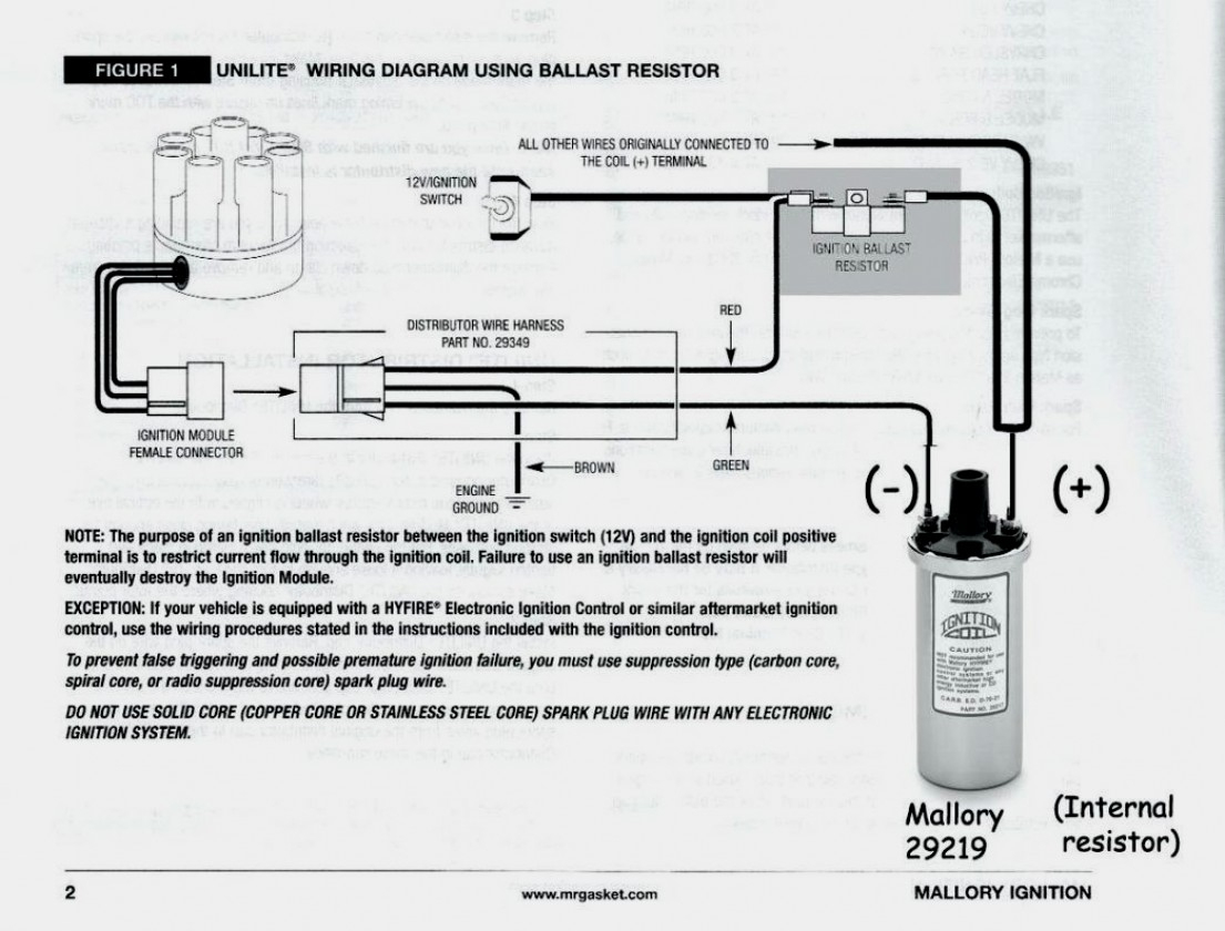 Wiring Mallory 609 | Schematic Diagram - Mallory Ignition Wiring Diagram