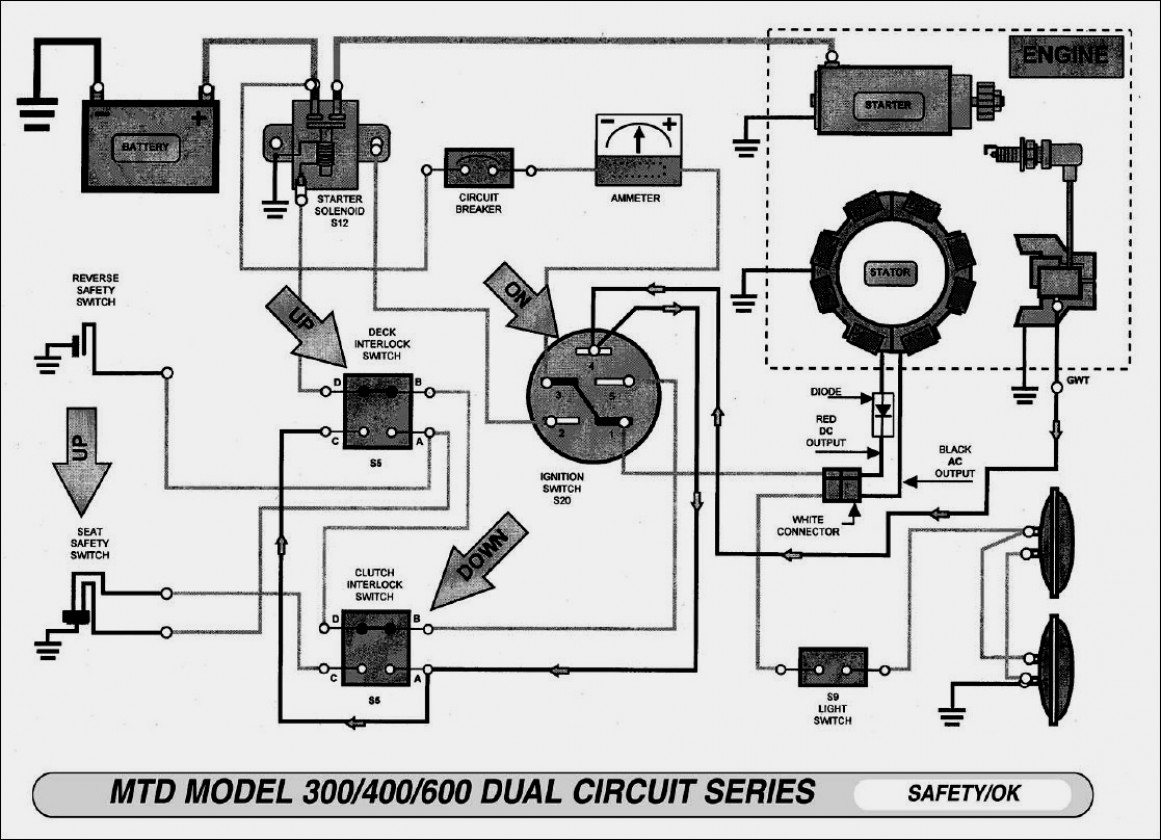 Wiring Schematic For Murray Riding Lawn Mower   Wiring Diagram - Wiring Diagram For Murray Riding Lawn Mower