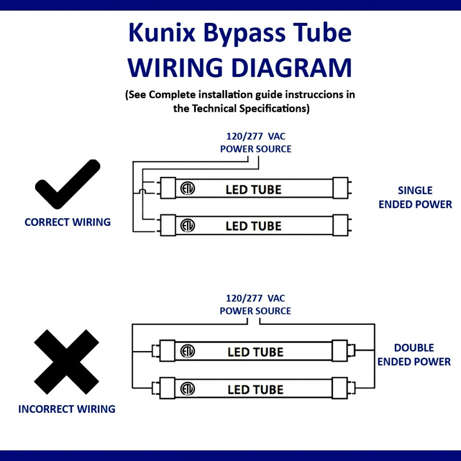 Wonderful Of Led Tube Light Wiring Diagram T8 Data - Wiring Diagram For Led Tube Lights