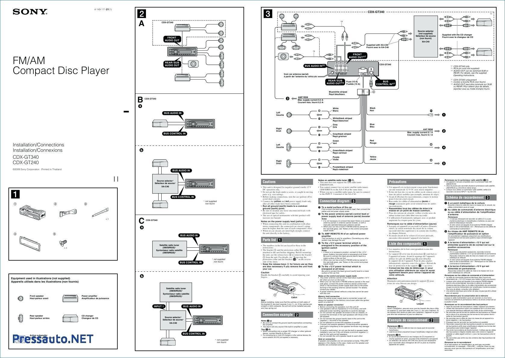 Xm 554Zr Sony Xplod Wiring Diagram | Wiring Diagram - Sony Explod Wiring Diagram