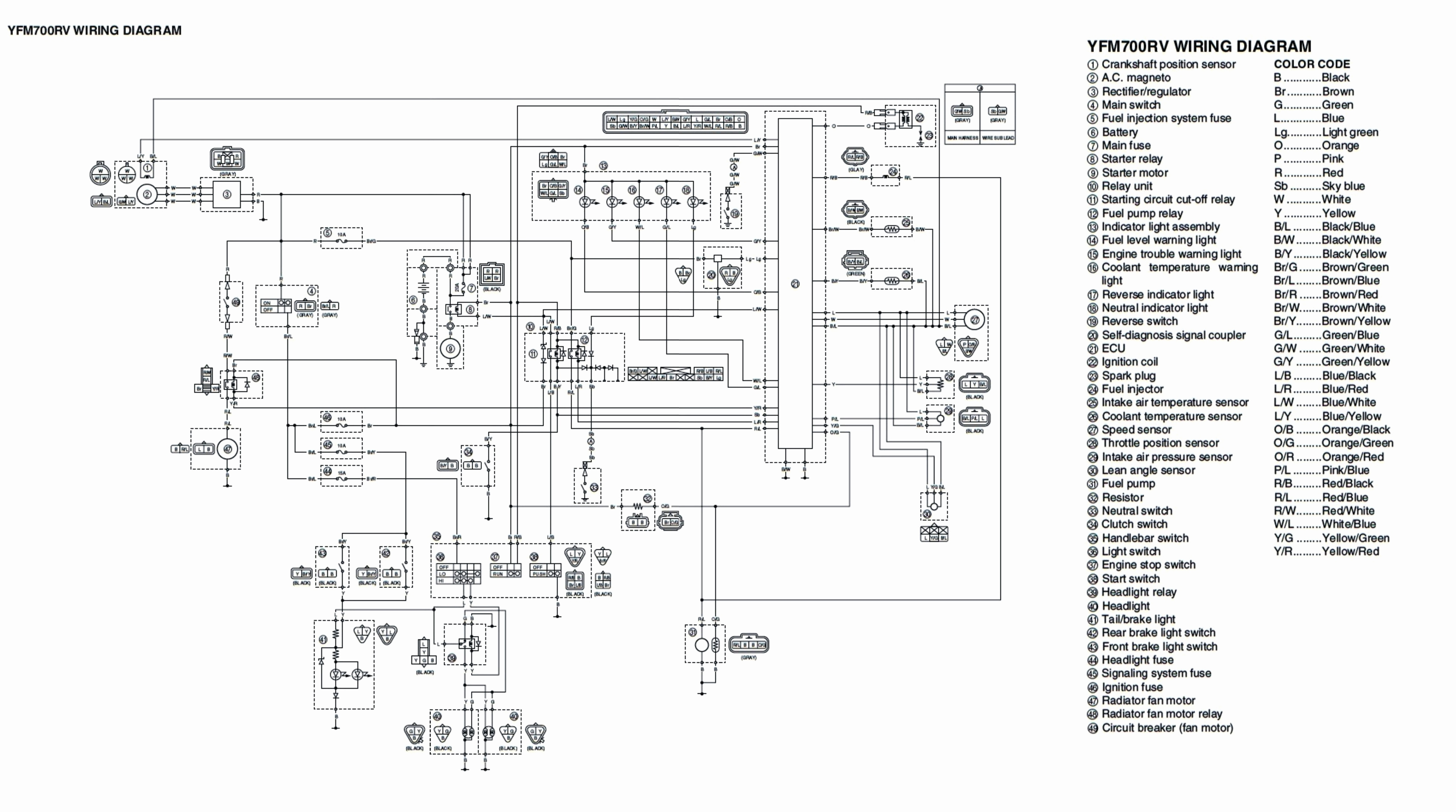 Yamaha 703 Remote Control Wiring Diagram | Manual E-Books - Yamaha 703 Remote Control Wiring Diagram