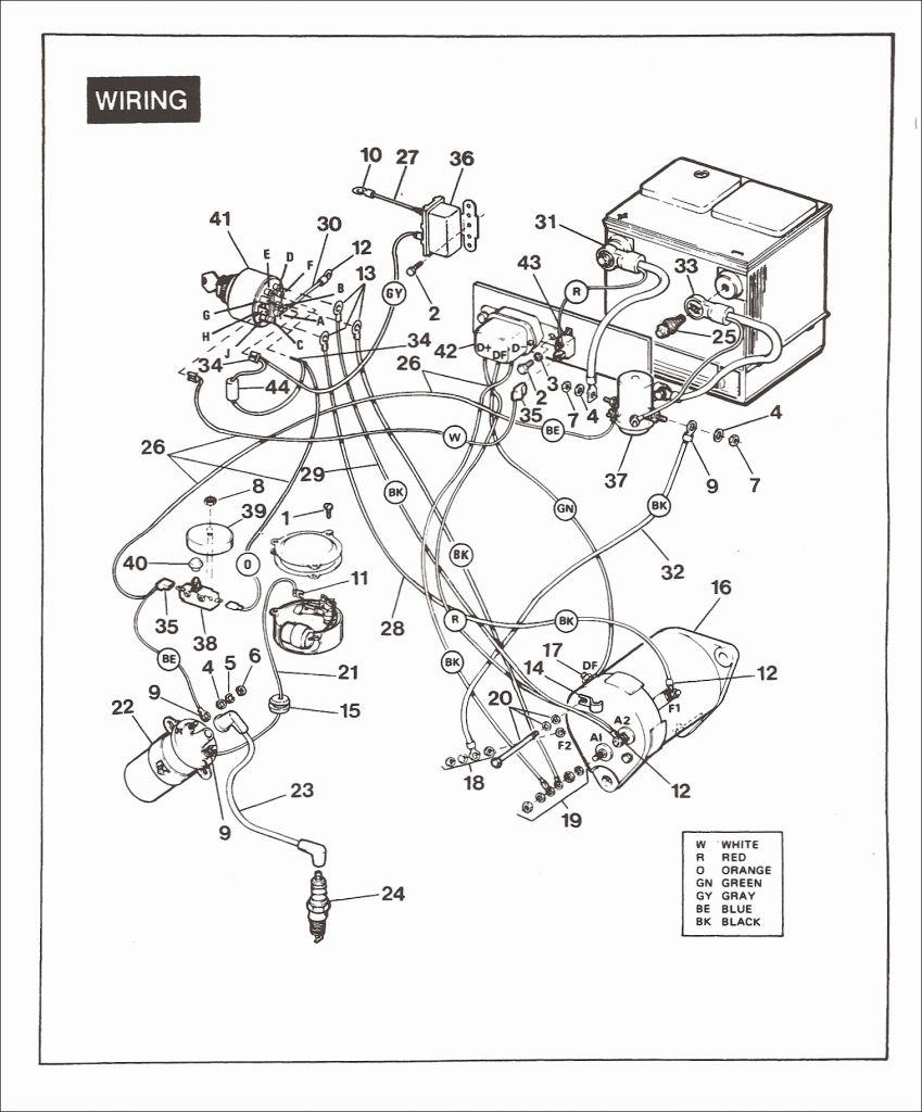 Yamaha Golf Cart Solenoid Wiring Diagram - Zookastar - Yamaha Golf Cart Wiring Diagram