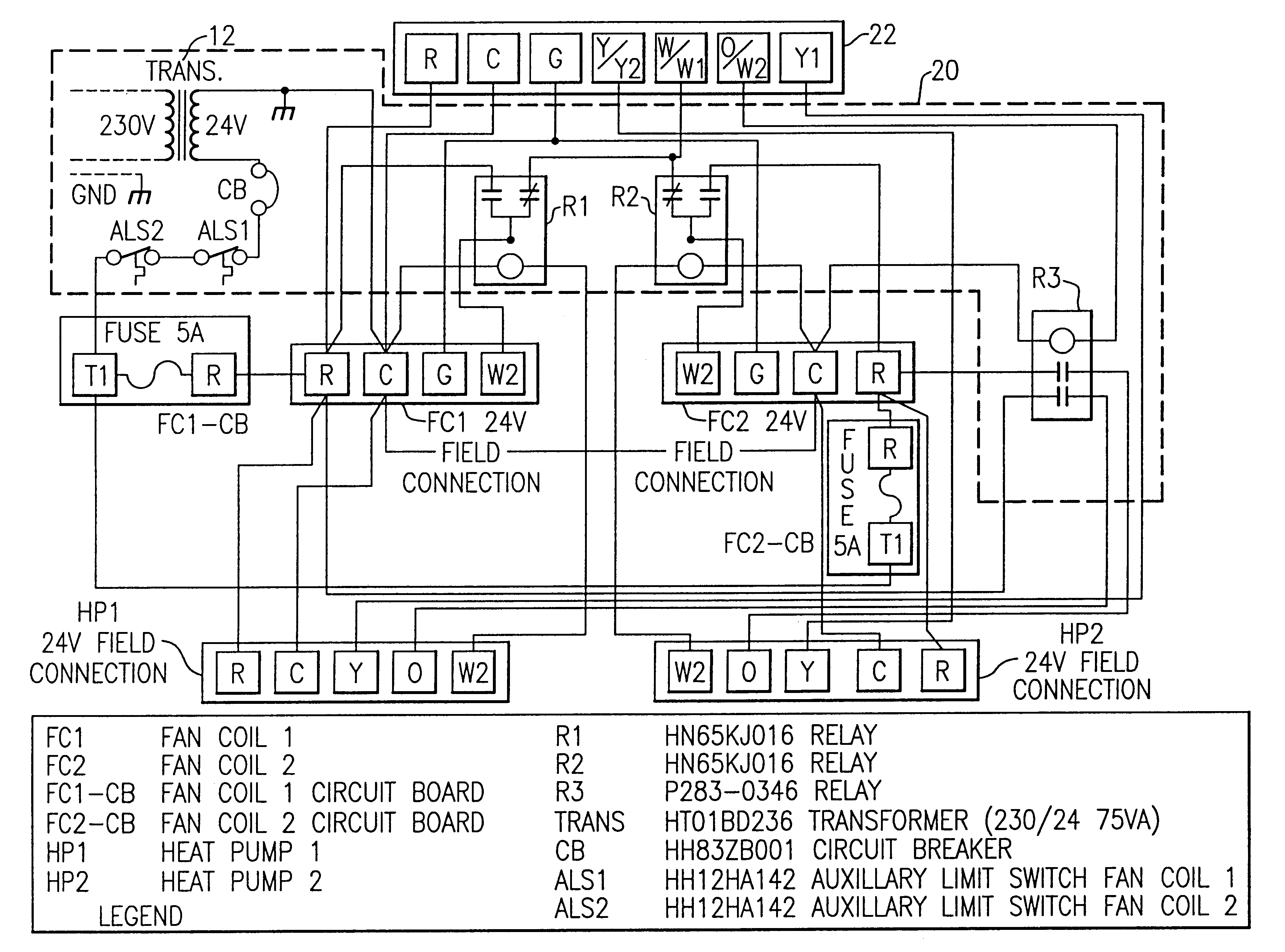 York Air Conditioner Wiring Diagram | Manual E-Books - York Air Handler Wiring Diagram