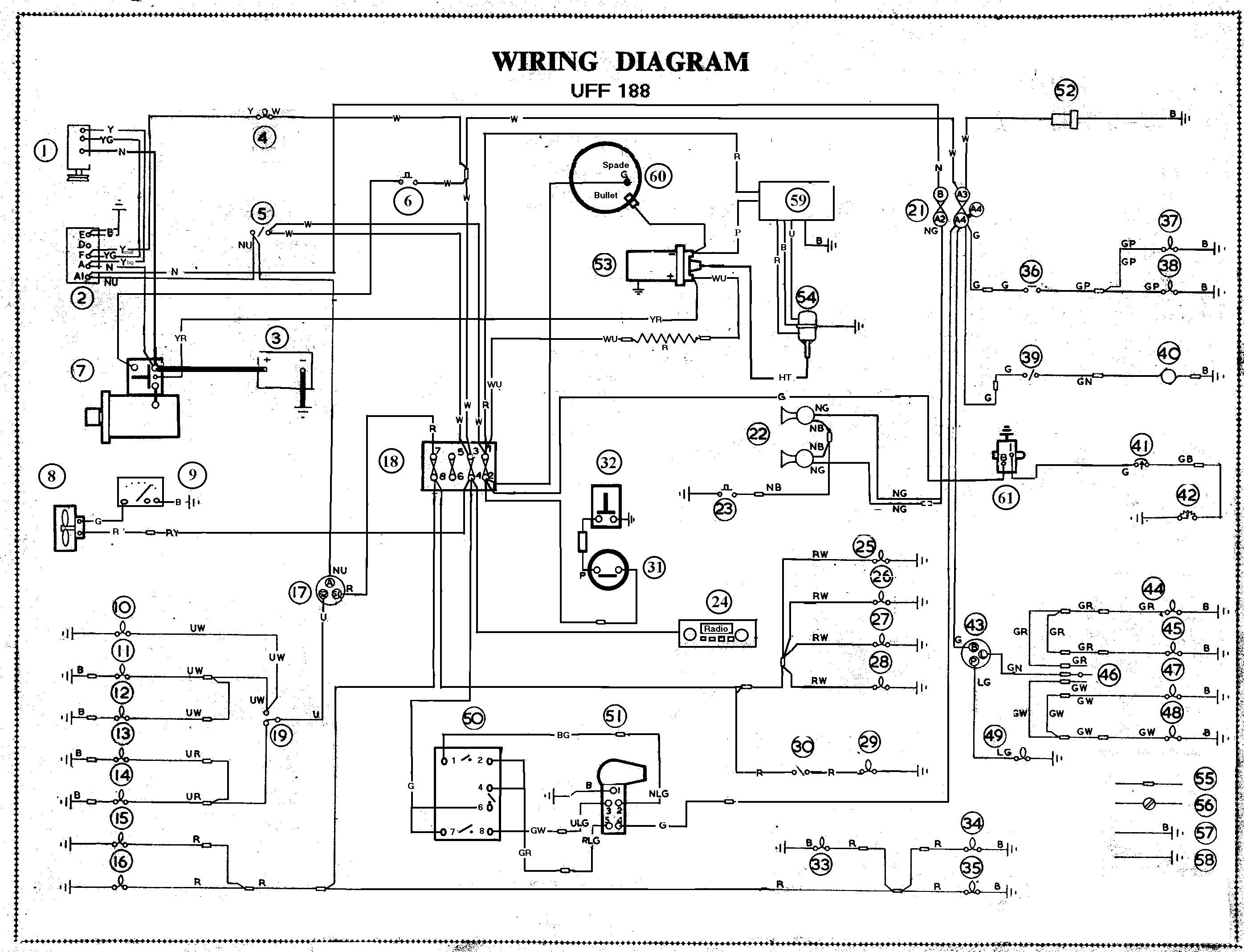 Zivan Diagram Gem Car Wiring - Wiring Diagram Data - Wiring Diagram For